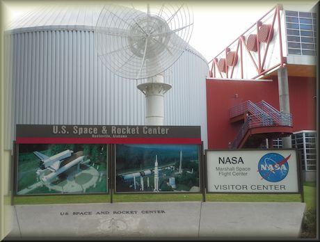 U.S. Space and Rocket Center in Huntsville, Alabama