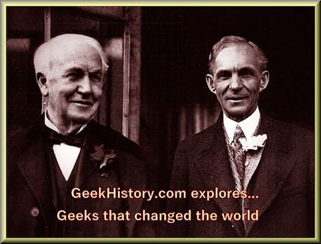 Even if geeks Henry Ford and lifelong friend Thomas Edison invented nothing their innovations changed everything