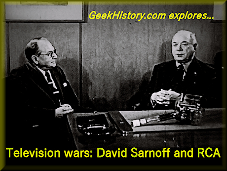 Vladimir Zworykin and RCA Chairman David Sarnoff recount early research