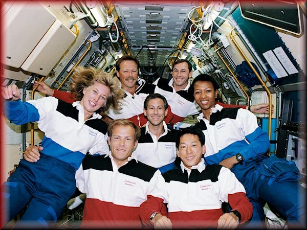 Japanese  Spacelab with first African-American woman astronaut