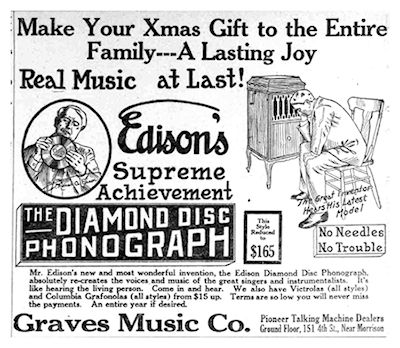 Edison Disc Phonograph