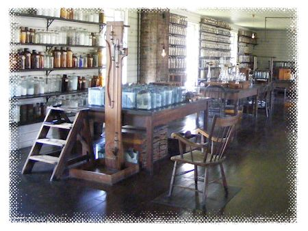 Edison's laboratory from Menlo Park