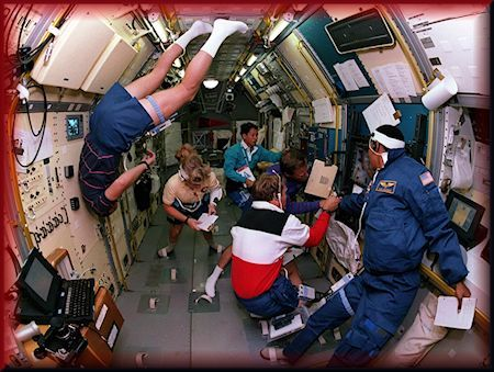 Spacelab-J was a joint NASA and National Space Development Agency of Japan